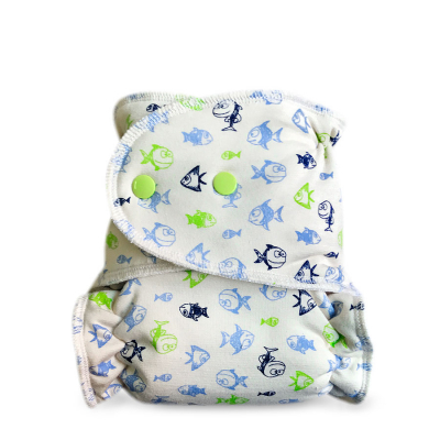 Cloth diaper 1-size - Fish BIO BRP53