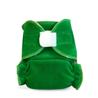 Cloth diaper 1-size - GREEN BRZ28