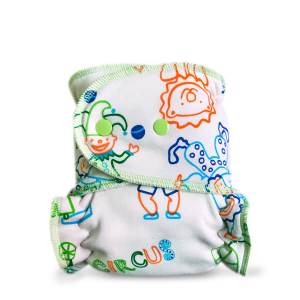 Cloth diaper 1-size - Cirkus BIO BRP51
