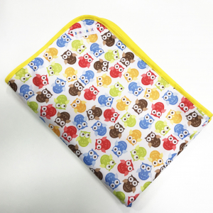 Changing mat - Owls and yellow POD7